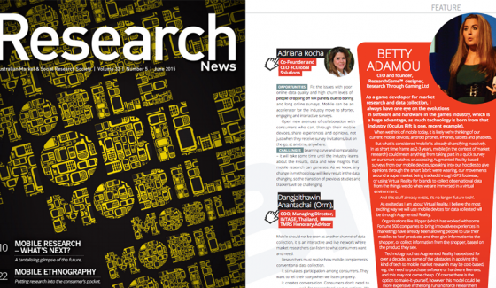 15. Research-News-AMSRS-Mobile-Market-Research-Surveys-Betty-Adamou-June2015-edition