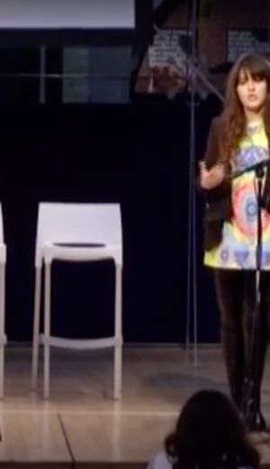 Betty Adamou speaking at the IIeX EU conference 2014