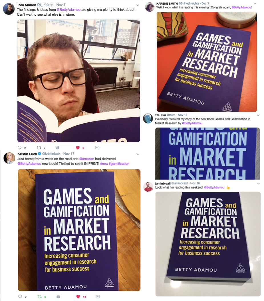 Poster 1 social media posts of Games and Gamification in Market Research