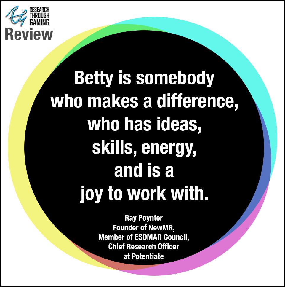 Ray Poynter for Betty RTG