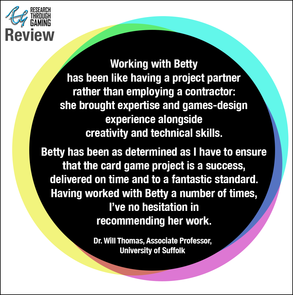 Web Dr WIll Thomas Testimonial Uni of Suffolk for Betty RTG