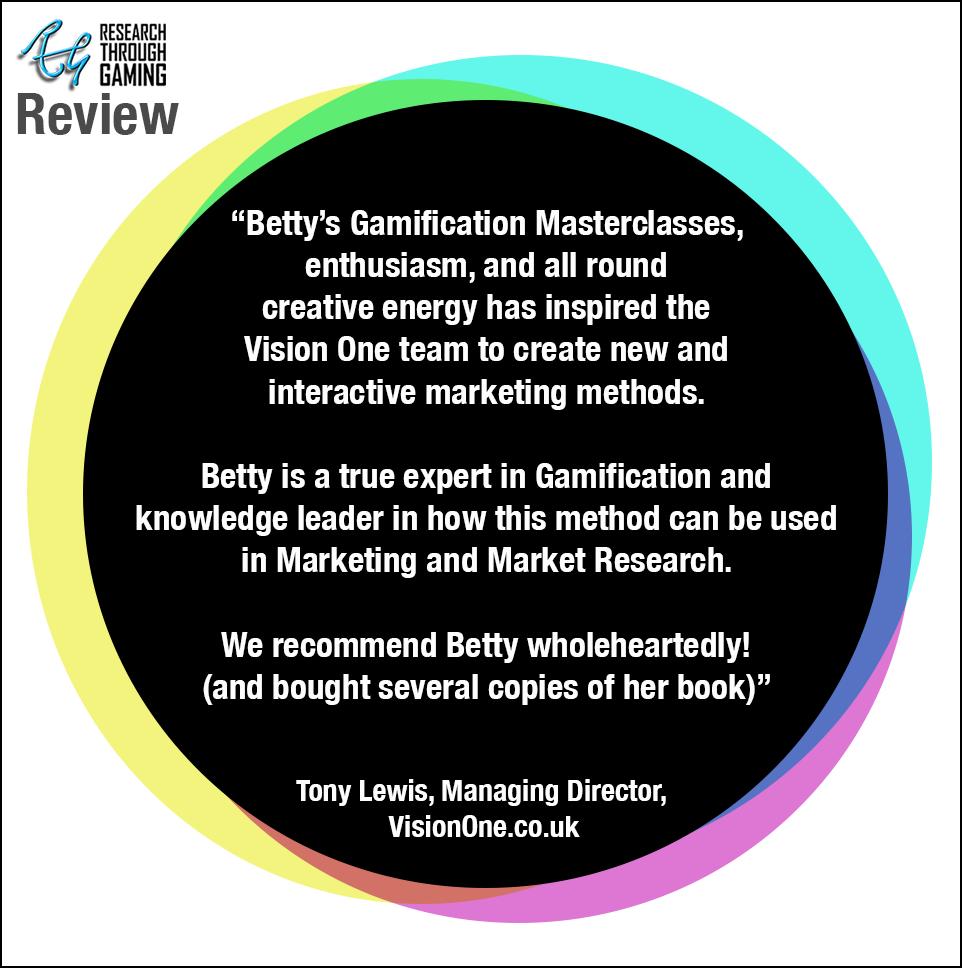 Web Tony Lewis Vision One Betty RTG