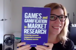 Anca yallop enjoying Games and Gamification in Market Research