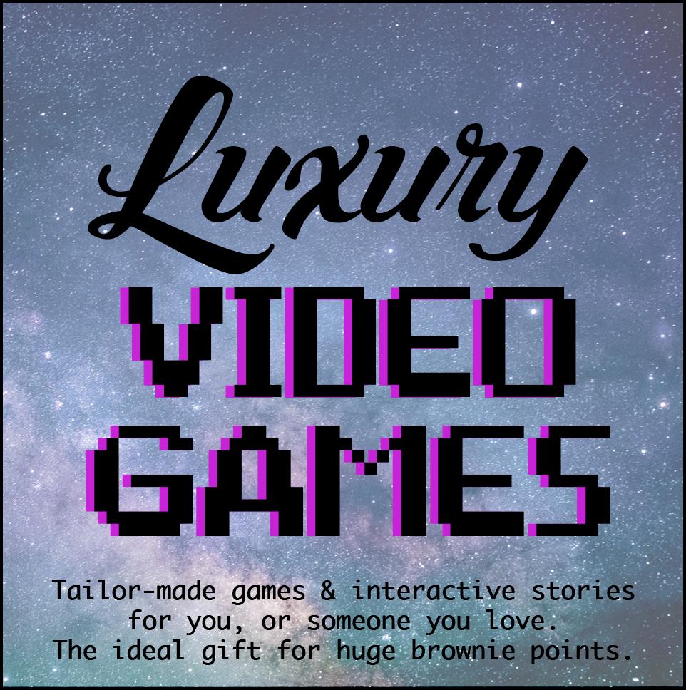 New Square Luxury Videogames logo