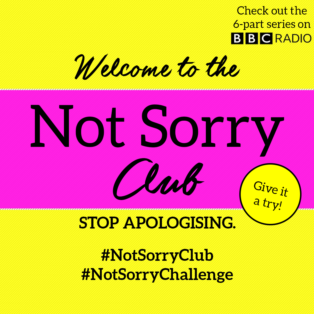 Not Sorry Club thumbnail with logo